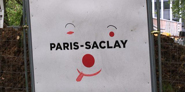 Paris Saclay, l'envers du décor le 1er juin 2017 à Bures-sur-Yvette
