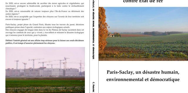 Citoyens de terre contre l'État de fer Paris-Saclay, un désastre humain, environnemental et démocratique